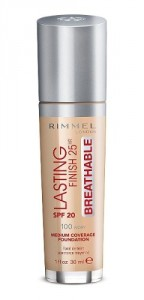 Base Líquida Rimmel Lasting Finish Breathable Foundation