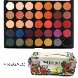 Paleta de Sombras The Ultime Pro Shadow Palladio + Neceser Regalo