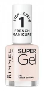 Esmalte Uñas Francesitas Rimmel Super Gel French Manicure