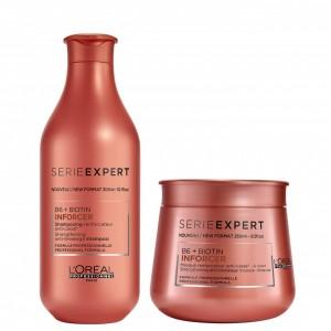 Shampoo 300ml + Máscara 250ml Inforcer B6+Biotin Expert Loreal Professionnel