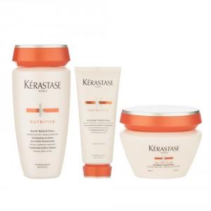 Shampoo + Acondicionador + Máscara Nutritive Kérastase