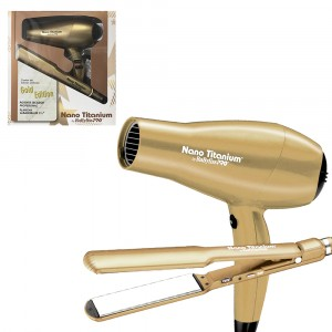 COMBO PLAN9559+SEC GOLD EDITION BABYLISS
