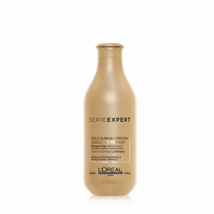 Shampoo Absolut Repair Gold Quinoa Reparación 300Ml Loreal Professionnel