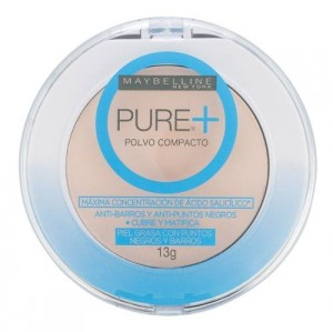 Polvo Compacto Pure Make Up Plus Maybelline