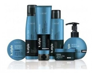Set Styling Profesional Completo Lakme Cool Spray Gel Pasta