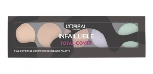Paleta Correctora Infallible Total Cover Loreal Paris