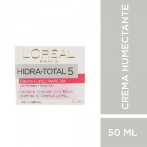 Crema Humectante Día L´oréal Paris Hidra Total 5 X 50ml