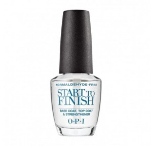 Base, Top Coat y Fortalecedor Start to Finish x15ml OPI