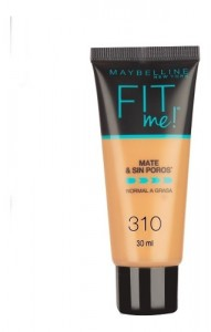 Base Liquida Fit Me Piel Normal A Grasa Maybelline