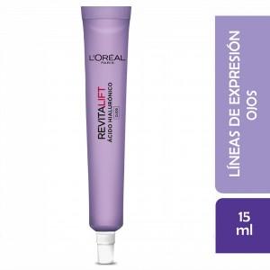 Crema Ojos L´Oréal Paris Revitalift Ácido Hialurónico x 15ml