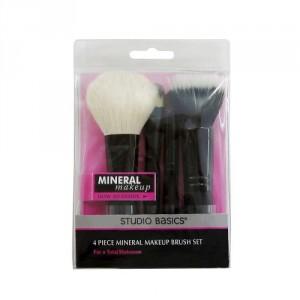 Set De Brochas De 4 Piezas Maquillaje 2137 Studio Basics