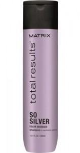 Shampoo Matizador So Silver X300 Total Results Matrix