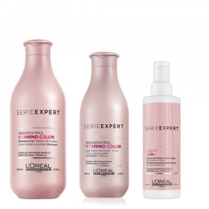 Shampoo + Acondicionador + 10 en 1 Vitamino Color L'Oréal Professionnel