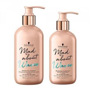 Shampoo Cabellos Ondulados + Enjuague Mad About Schwarzkopf