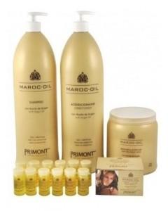 Pack Maroc Oil Shampoo Acondicionador Tratamiento Ampollas