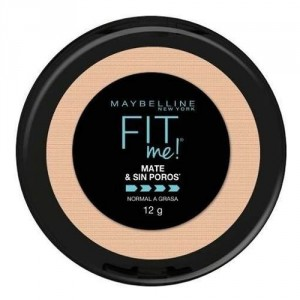 Polvo Compacto Fit Me Matte Piel Normal A Mixta Maybelline