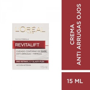 Crema Ojos L´oréal Paris Revitalift X 15ml