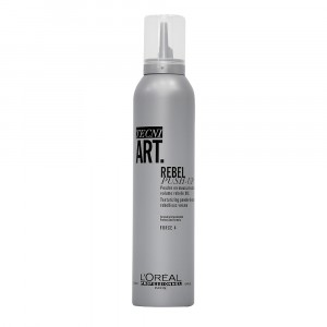 Mousse Texturizante y Voluminizador Rebel Push-up Tecniart x250ml L'Oréal Professionnel