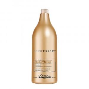 Shampoo Absolut Repair Gold Quinoa Reparación x1500ml Loreal Professionnel