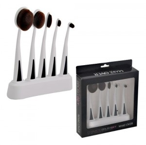 Set De 5 Brochas Para Maquillaje Makeover