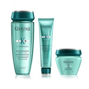 Shampoo + Acondicionador + Máscara Extentioniste Résistance Kérastase