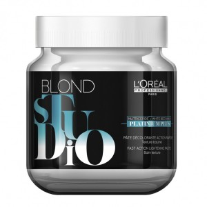 Pasta Decolorante Platinum Plus Blond Studio x 500ml. Loreal Professionnel